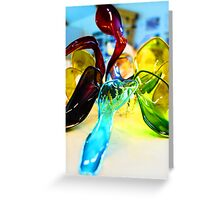 Abstract model Greeting Card