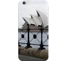 Lining-up for the Opera House iPhone Case/Skin