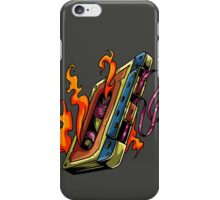 Retro Music. Old Skool music cassette tape. iPhone Case/Skin