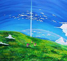 La tour au-delà des nuages (Beyond the Clouds) by studinano