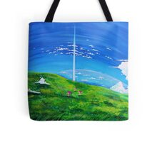 La tour au-delà des nuages (Beyond the Clouds) Tote Bag