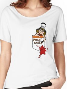 Pocket Chef Women's Relaxed Fit T-Shirt