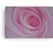 """Nature. Rose """"Pink DREAM"""" Fine ART. Oil painting.  Canvas Print"""