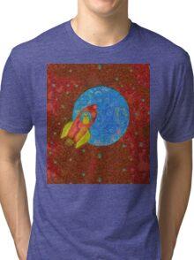 EARTH TO MAJOR TOM Tri-blend T-Shirt