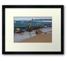 Rocky Shoreline - Australia Framed Print