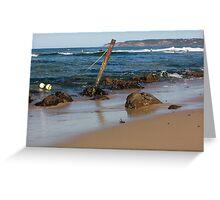 Rocky Shoreline - Australia Greeting Card