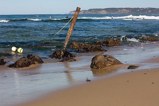 Rocky Shoreline - Australia by reflector