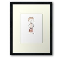 Doctor Who - Oh Aye Framed Print