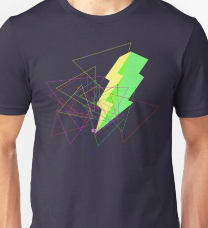 Crazy triangles & great ray Unisex T-Shirt