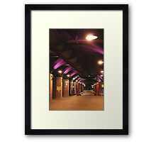 The Dark Arches Framed Print