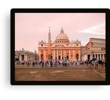 Was there a female Pope? -Vatican City Canvas Print