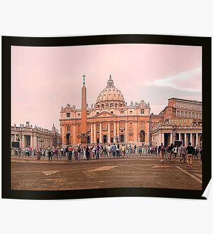 Was there a female Pope? -Vatican City Poster