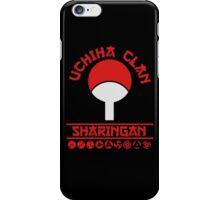 Uchiha clan Sharingan t shirt, iphone case & more iPhone Case/Skin