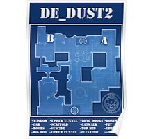 CSGO DE_Dust 2 Poster