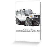 Toyota Troop Carrier Greeting Card