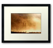 Apocalyptical Weather Report Framed Print