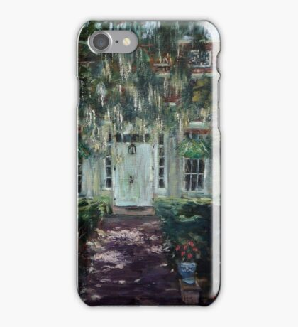 The Door to Smithville Mansion iPhone Case/Skin