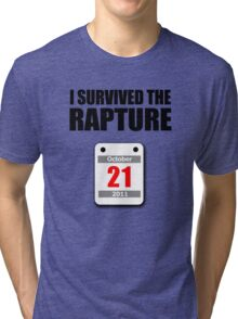 I Survived The Rapture (October 2011) Tri-blend T-Shirt
