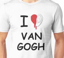 I love Van Gogh Unisex T-Shirt