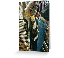 Chute View Greeting Card