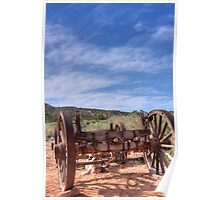 Wagon wheels Poster