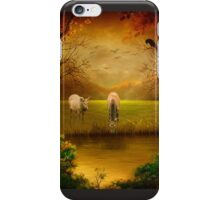 Hunting Wolf iPhone Case/Skin