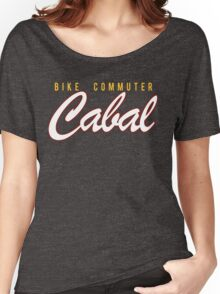 Cabal Retro Script Women's Relaxed Fit T-Shirt