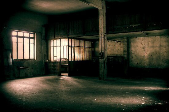 Dying place - Warehouse #1 by Nicolas Noyes