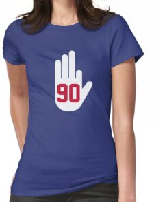 JPP Blast - Red Womens Fitted T-Shirt