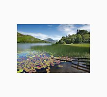 Loweswater Lake shore in summer from Holme Wood English Lake District Unisex T-Shirt
