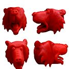 Red bear'ble by Ben Cresswell