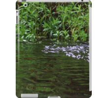 Gator to the right iPad Case/Skin
