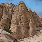 Formation at Kasha-Katuwe Tent Rocks by Mitchell Tillison