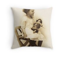 The Return Of Little Gladys ~ Back By Popular Demand!! Throw Pillow