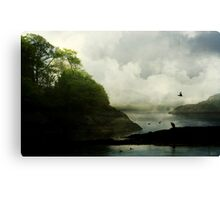 A world to roam through, and a home with thee.  Canvas Print