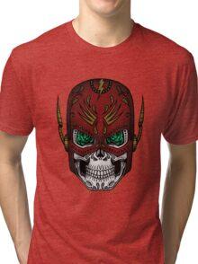 Sugar Skull Series - The Flash Tri-blend T-Shirt