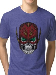 Sugar Skull Series - The Flash Tri-blend T-Shirt
