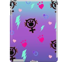FemCat Pattern iPad Case/Skin