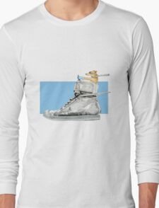 Dog Driving A Shoe Long Sleeve T-Shirt