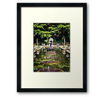 The Roman Gardens Framed Print