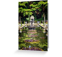 The Roman Gardens Greeting Card