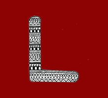 'L' Patterned Monogram by tadvani