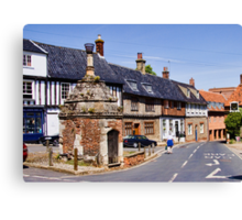 The Pump House - Walsingham Canvas Print