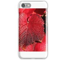 Simply Red iPhone Case/Skin