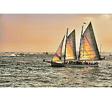 Sunset On The Hudson Photographic Print
