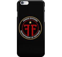 FRINGE Division Department of Defense iPhone Case/Skin