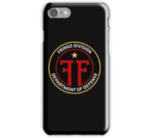FRINGE Division Department of Defense iPhone Case/Skin