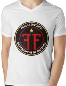 FRINGE Division Department of Defense Mens V-Neck T-Shirt
