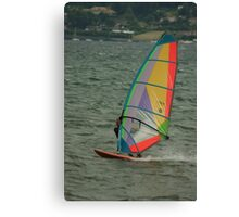 windy fun Canvas Print
