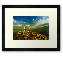If There is Heaven, It's Here!!!!!! Framed Print